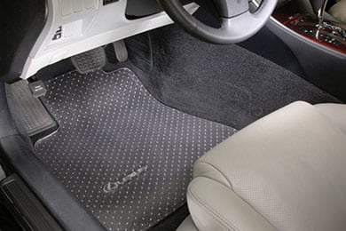 Ford Edge Intro-Tech Automotive Protect-A-Mat Clear Floor Mats
