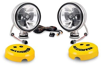 BMW X5 KC HiLites Daylighter Off-Road Lights System