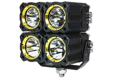 Honda Civic KC HiLites FLEX Quad LED Light System
