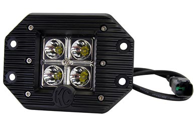 KC HiLites C-Series Flush Mount LED Lights