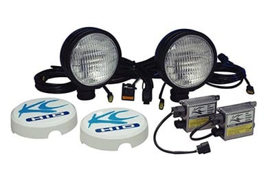 Jaguar X-Type KC HiLites HID Flood Lights System