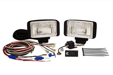 Mazda MX-6 KC HiLites 35 Series Wide Beam Driving Lights System