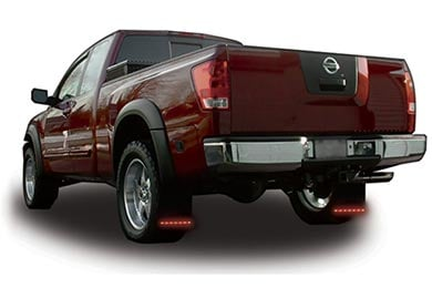 Chevy Suburban PlasmaGlow Fire & Ice LED Mud Flaps