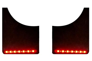 Chevy Suburban PlasmaGlow Fire & Ice LED Mud Flap Lights