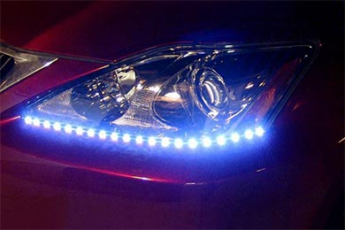 Infiniti G37 PlasmaGlow Lightning Eyes LED Headlight Strips