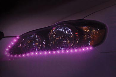 BMW X5 PlasmaGlow Lightning Eyes LED Headlight Strips