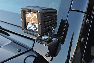 Jeep Wrangler Poison Spyder A-Pillar Light Mounts