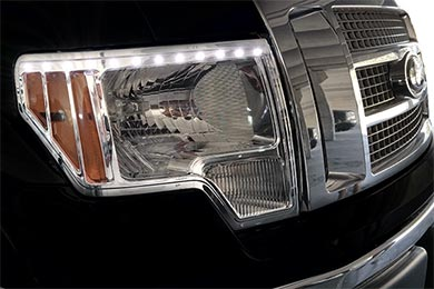 GMC Yukon ProZ Chrome LED Headlight Bezels