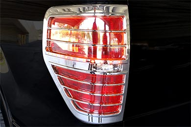 proz chrome led tail light bezels