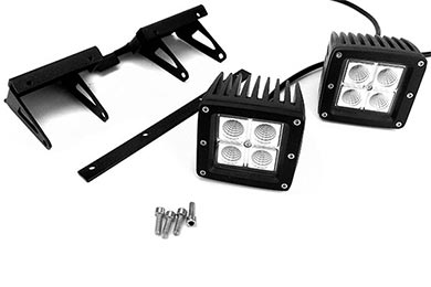 Audi A4 ProZ LED Cube Hitch Light Kit