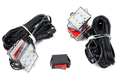 Jeep Grand Cherokee ProZ Premium LED Bed Rail Lighting Kit