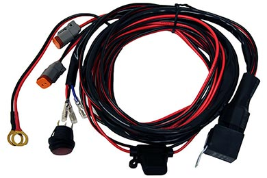 Chevy Corvette Rigid Industries Back Up Light Kit Harness