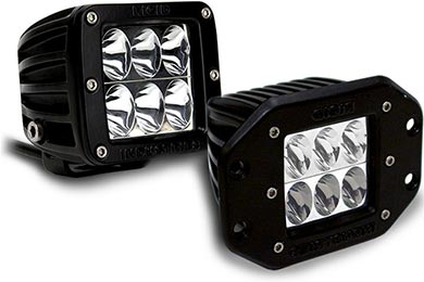 Toyota Highlander Rigid Industries D2 High & Low LED Lights