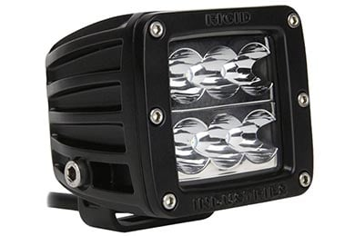 Ford Fiesta Rigid Industries D2 Series LED Lights