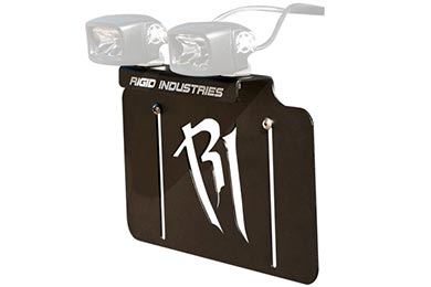 Rigid Industries License Plate Light Mount Bracket