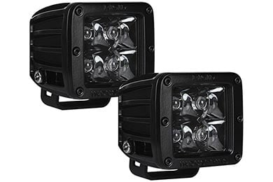 GMC Jimmy Rigid Industries Midnight Edition D Series LED Lights