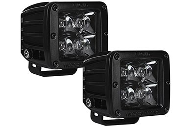 Chevy Tahoe Rigid Industries Midnight Edition D Series LED Lights