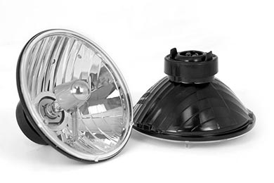 Jeep Wrangler Rugged Ridge Crystal Headlights