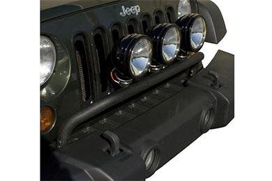 rugged ridge front light bar kit
