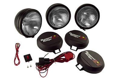 Ford Mustang Rugged Ridge HID Off-Road Lights
