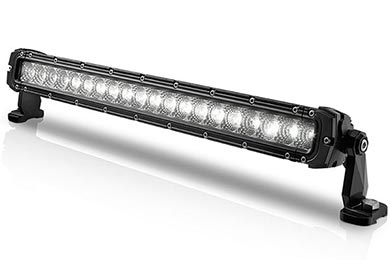 Hummer H2 ProZ Single Row Heavy Duty CREE LED Light Bars