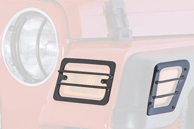 Smittybilt Euro Turn Signal Light Guards