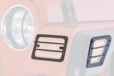 Smittybilt Euro Turn Signal Light Guards