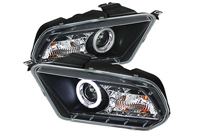 Jeep Wrangler Spyder Headlights