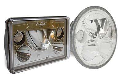 Chevy Suburban Vision X Vortex LED Replacement Headlights