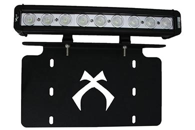 Honda Civic Vision X License Plate Light Bar Bracket