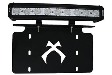 BMW X5 Vision X License Plate Light Bar Bracket