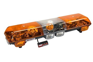 Chevy Astro Wolo Infinity 1 Halogen Rotating Roof Mount Light Bar