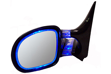 cipa blue optic glow mirror