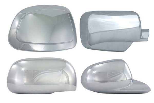 Chevy Tahoe Pilot Chrome Mirror Covers
