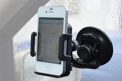 Ford Econoline CommuteMate Cell Phone Window Suction Cup Mount