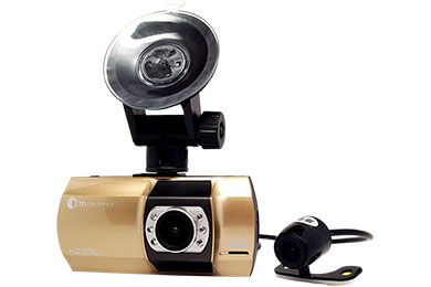 Hummer H3 Top Dawg 1080P Dual DVR Dash Cam