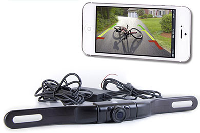 Porsche Cayman Top Dawg WiFi Backup Camera