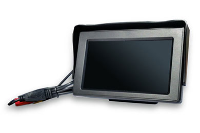 Ford Econoline Top Dawg Wired Backup Camera with Monitor