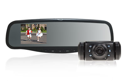 Subaru Tribeca Yada Rearview Mirror Monitor Wireless Backup Camera System