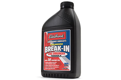 Edelbrock Premium Break-In Engine Oil