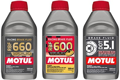 Audi TT Motul Brake Fluid