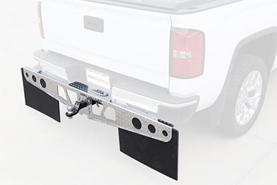 access rockstar hitch mounted mud flaps