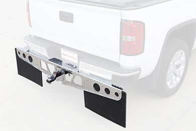 Ford F-350 Rockstar Hitch Mounted Mud Flaps