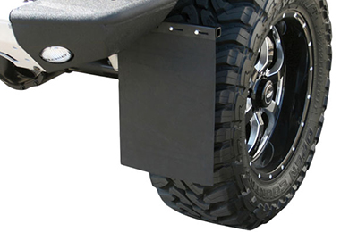 GMC Sierra Aries Removable Mud Flaps