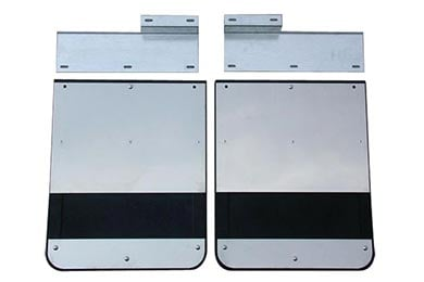 Ford F-350 Go Industries Stainless Dually Mud Flaps