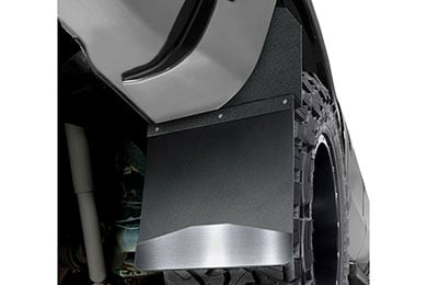 Ford F-350 Husky Kick Back Universal Mud Flaps