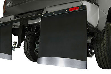 Ford F-350 Husky Liners Hitch Mounted Mud Flaps