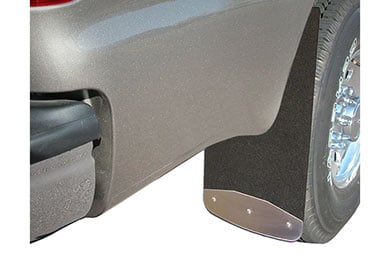 Ford F-350 Luverne Rubber Mud Guards