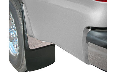 Ford F-350 Luverne Stainless Steel Splash Guards