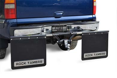 Chevy Silverado Rock Tamers Mud Flap System